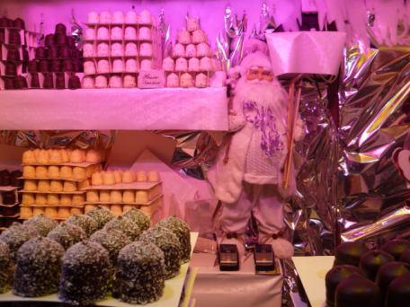 Chocolats et bonhomme barbu... c'est bien Noël !