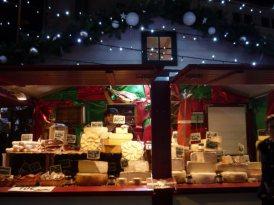 Les bons fromages au Marché de Noël...