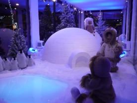 Igloo et eskimos... c'est l'hiver !