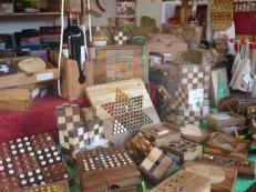 Les jeux en bois sont présents au Marché de Noël du Mans