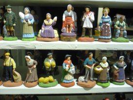 Les santons traditionnels de Noël !