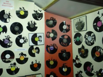 Les vinyles au Marché de Noël