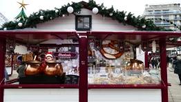 Vin chaud et bretzels au Marché de Noël